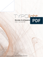 TYPOlight Guide v1.1 (French)