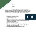Paper 2 Topics Final