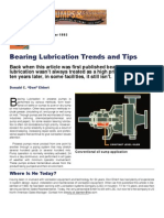 Bearing Lubrication Trends and Tips