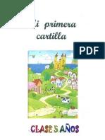 CARTILLA CLASE 5 AÑOS 1 TRIMESTRE