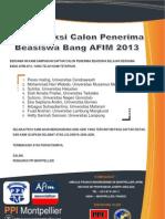 Announce AFIM2013