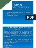 Problemas de Gestion de Stock