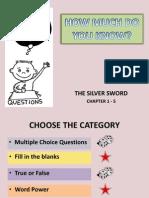 Silver Sword Ch 1-5 Quiz