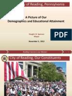 Reading PA- Demographics & Educational Attainment
