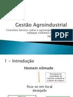 aula 1 introdução a Gestão Agroindustrial