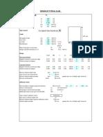 Slab Design Excel