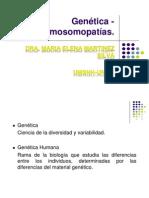 Genetica-cromosomopatias Dra Martinez