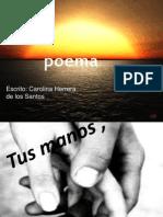 poema tus manos.pptxAlba Márquez