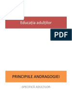 EducaLŤia adultilor