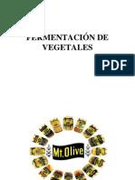 Fermentacion de Vegetales