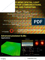53 Lucent Advanced MEMS SLM for Communications Imaging and