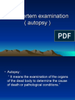 07 Post Mortem Examination (Autopsy)