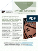 By the Numbers - Issue No. 1