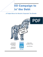 IPS CEO Campaign to Fix the Debt Report