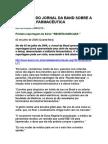 Denúncia Do Jornal Da Band Sobre a Indústria Farmacêutica - Receita Marcada (Reportagem Completa)