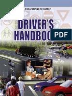 Quebec drivers license handbook