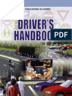 Quebec drivers license handbook