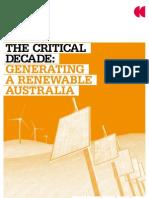 Climate Commission - Renewable Australia report