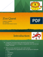 2nd Grade Zoo Webquest