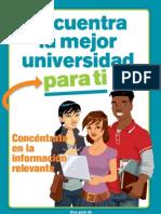 Encuentra La Mejor Universidad Para Ti
