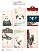 gift tags 2012