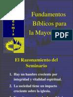 FUNDAMENTOS BÌBLICOS MAYORDOMÌA