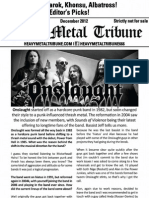 Heavy Metal Tribune Issue 5 (December 2012)