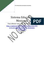 sistema educativo mexicano, historia, decisiones y políticas 26-11-12