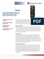 Sonata SE MSC Server Datasheet