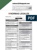 Ley 29944 Ley de La Reforma Magisterial Promulgada 25-11-2012 Sutexvsjl