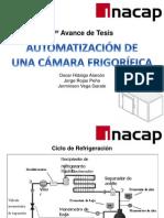 1er Avance - Proyecto de Tesis - Automatización de una Cámara Frigorífica