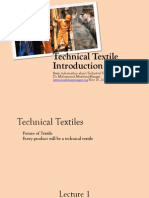 Introduction to Technical Textiles
