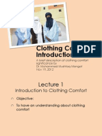 Introduction Clothing Comfort