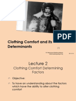 Clothing Comfort Determining Factors