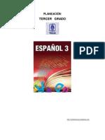 planeacion de español 3º