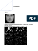 Facial PCA and Fisher Discriminant Analysis