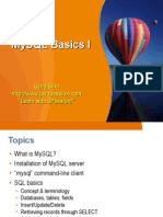 Mysql Basics1