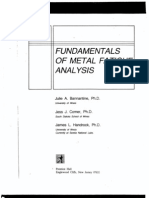 Of metal fatigue pdf fundamentals analysis