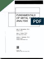 Of metal fatigue pdf fundamentals analysis