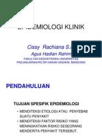 Epidemiologi Klinik # CK