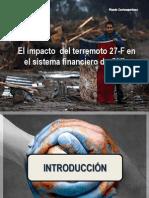 El Impacto Del Terremoto Del 27-F en El Sistema Financiero de Chile