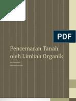 Pencemaran Tanah Oleh limbah Organik