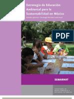 Estrategia de Educación Ambiental para la Sustentabilidad - SEMARNAT 2006 versión ejecutiva