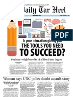The Daily Tar Heel for November 26, 2012