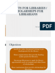 Looking for Funds and Grants for Libraries - ASLP Outreach
