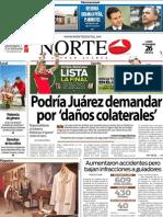 Periodico Norte de Ciudad Juárez 26 de Noviembre de 2012