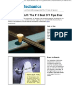 Print - Know Your Stuff the 110 Best DIY Tips Ever - Popular Mechanics
