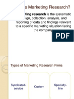 6. Marking Research