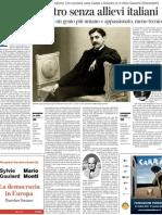 Proust, Maestro Senza Allievi Italiani - Corriere Della Sera 26.11.2012