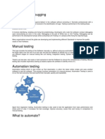 Testing and Documentation